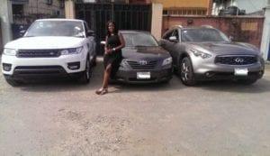 Linda Ikeji's cars