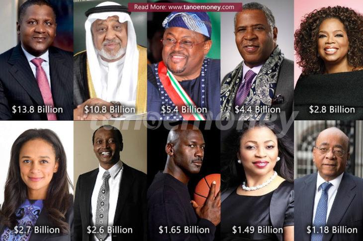 Ghanaweb richest men in Africa 2020