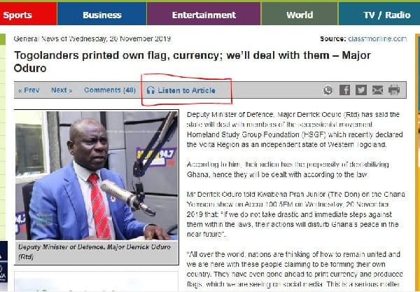 Ghanaweb news