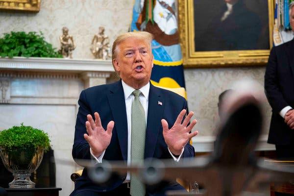 Trump declares a U.S national emergency over coronavirus