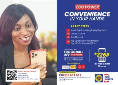 How can I buy ECG prepaid with MTN mobile money?
