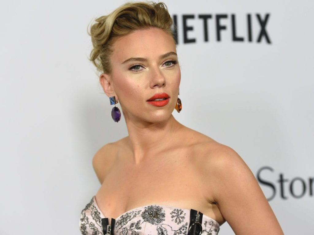 Highest-Paid Actresses in the world . Scarlett Ingrid Johansson