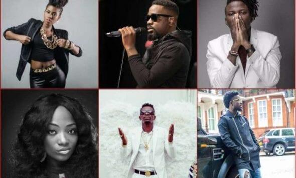 Most Awarded Artiste in Ghana