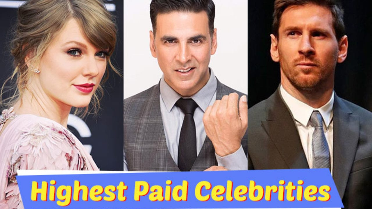 highest Paid celebrity in the world