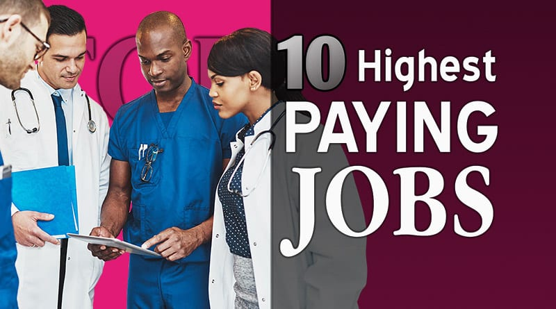 highest paid jobs in the world