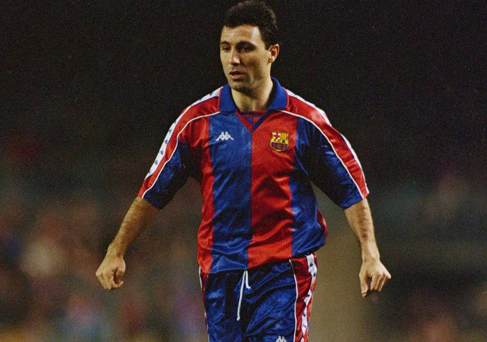 Stoichkov - Best Barcelona Players of All Time