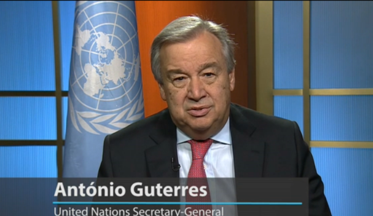 Antonio Guterres net worth