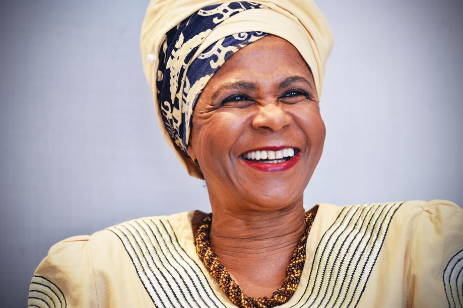 Richest woman in South Africa