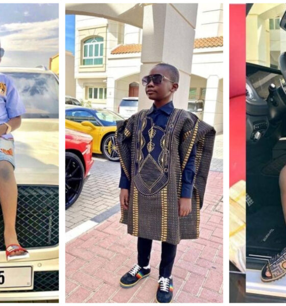 top 10 richest kids in Nigeria