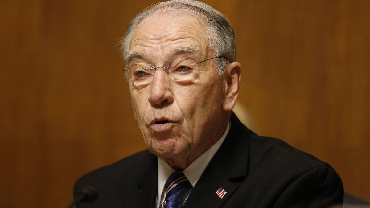Chuck Grassley net worth