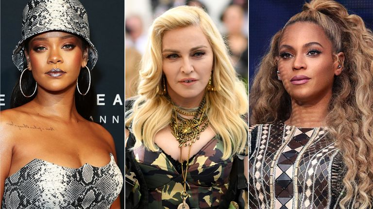 Richest Female Musicians in the World Top 20 List