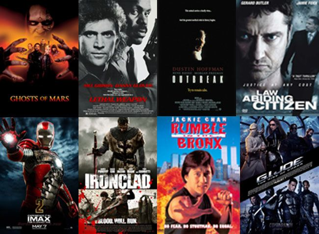 top10 best action movies on Netflix