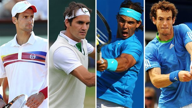 best tennis players in the world men